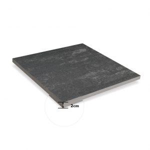 black exterior tiles