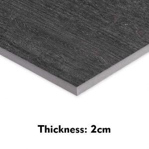 dark wood grain tile
