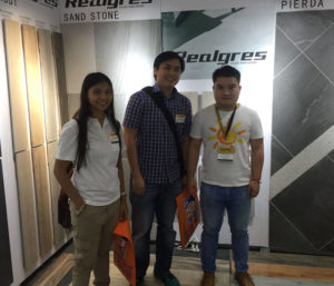 Philippine exhibition wall tiles