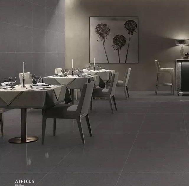 Dark grey tiles