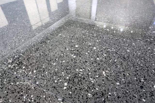 terrazzo tile thickness