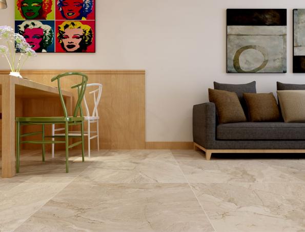 soft glazed porcelain tile