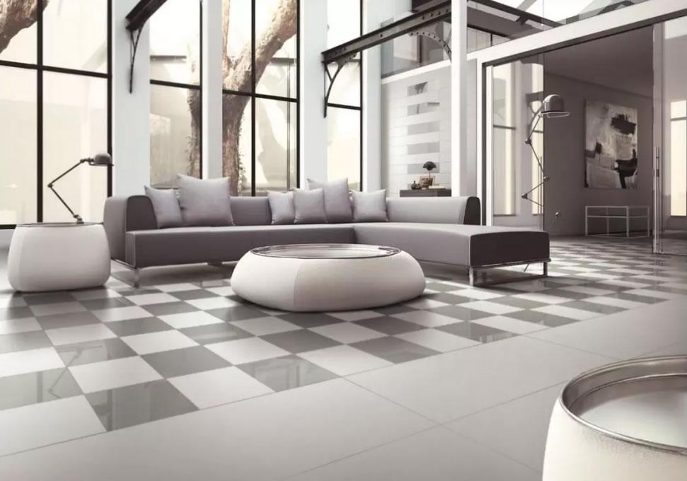 Pure color porcelain tile