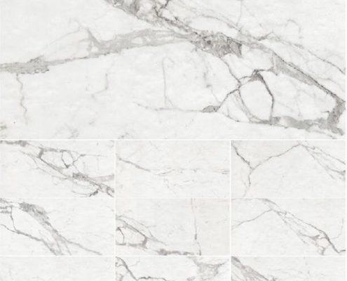 calacatta white ceramic tile toronto