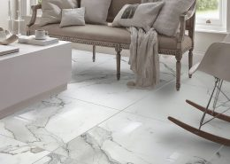 glossy white carrara tile ceramic