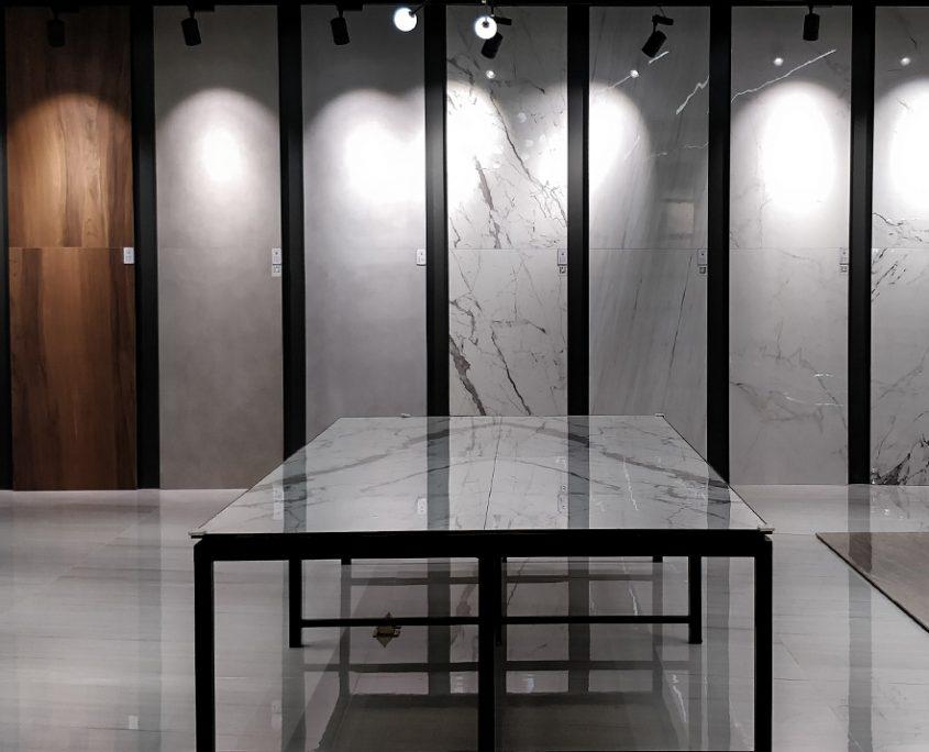Large Grey Bathroom Floor Tiles
