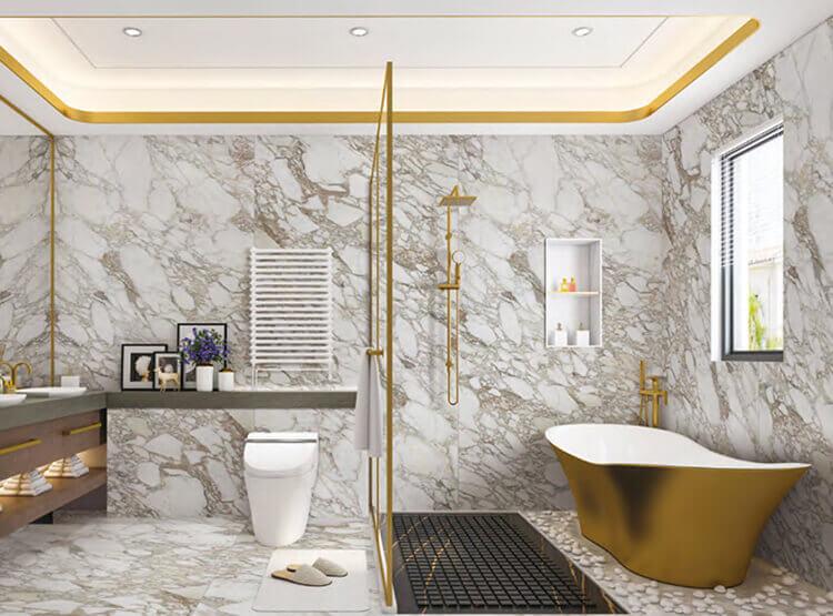 Bathroom Tile Ideas Use Large Tiles, Bathroom Tile Pictures